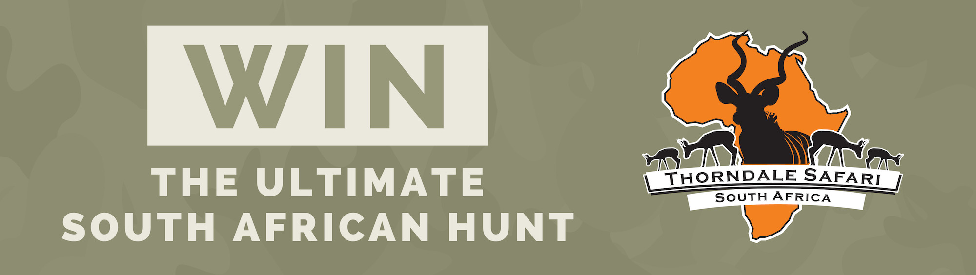 Win the ultimate South African hunt